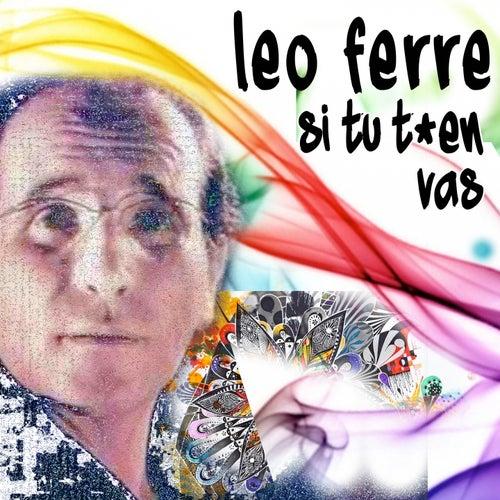 Si tu t'en vas de Leo Ferre
