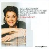 Bach: The Well-tempered Clavier, BWVV 846-893 by Heidrun Holtmann