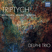 Triptych - String Trios by Beethoven, Brahms and Bolcom von 2018 Delphi Trio