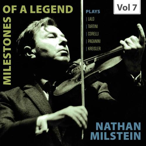 Milestones of a Legend: Nathan Milstein, Vol. 7 de Nathan Milstein