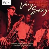 Milestones of Jazz Saxophone Legends: Very Saxy, Vol. 4 by Various Artists