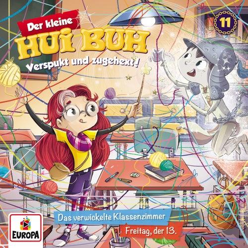 011/Das verwickelte Klassenzimmer / Freitag, der 13. von Der kleine Hui Buh