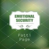 Emotional Security von Patti Page