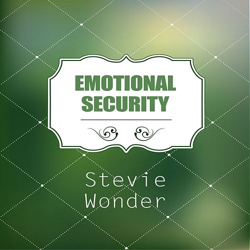 Emotional Security de Stevie Wonder