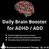 Daily Brain Booster for ADHD & ADD by Drak