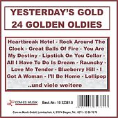 Yesterday's Gold - 24 Golden Oldies de Various Artists