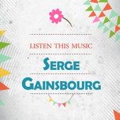 Listen This Music de Serge Gainsbourg