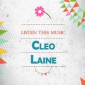 Listen This Music von Cleo Laine