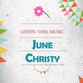 Listen This Music de June Christy