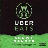 Uber Eats de Snowy Danger