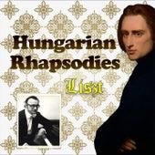Liszt / Hungarian Rhapsodies by Alfred Brendel
