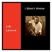 I Don't Know by J.B. Lenoir