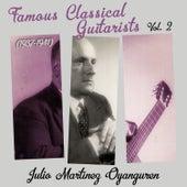 Famous Classical Guitarists, Vol. 2 (1937 - 1941) de Julio Martínez Oyanguren