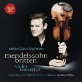Mendelssohn & Britten: Violin Concertos de Sebastian Bohren