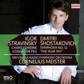 Stravinsky: Chant funèbre & L'oiseau de feu - Shostakovich: Symphony No. 12