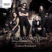 Shostakovich: String Quartets Nos. 1, 2 & 7 by Carducci String Quartet