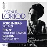 Schoenberg: Suite, Op. 29  / Henze: Concerto per il Marigny / Webern: Variations, Op. 27 by Yvonne Loriod