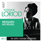 Messiaen: Huit préludes by Yvonne Loriod