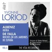 Albéniz: Iberia / De Falla: Noches en los jardines de España by Yvonne Loriod