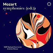 Mozart: Symphonies Nos. 40 & 41 (Live) by NDR Radiophilharmonie