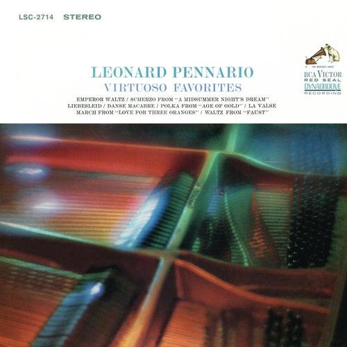 Leonard Pennario Plays His Virtuoso Favorites (Remastered) de Leonard Pennario