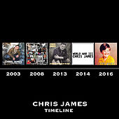 Timeline van Chris James