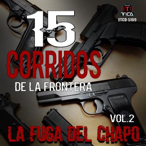 15 Corridos de la Frontera, Vol. 2 de Various