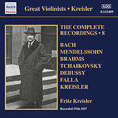 The Complete Recordings, Vol. 8 (1926-1927) by Fritz Kreisler