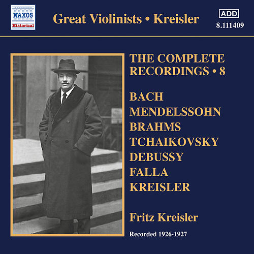 The Complete Recordings, Vol. 8 (1926-1927) de Fritz Kreisler