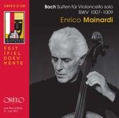 Bach Solo Cello Suites, BWVV 1007-1009 (Live) de Enrico Mainardi
