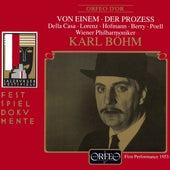 Gottfried von Einem: Der Prozeß, Op. 14 (Live) von Max Lorenz