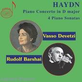 Haydn: Piano Concerto in D Major & 4 Piano Sonatas von Vasso Devetzi