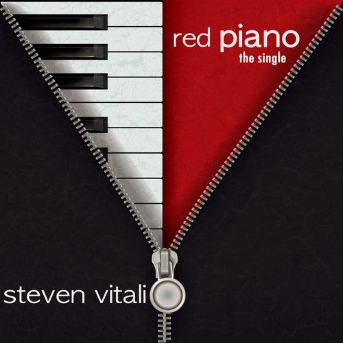 Red Piano by Steven Vitali