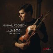 Bach: Violin Sonatas & Partitas, BWV 1001-1006 von Mikhail Pochekin