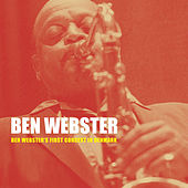 Ben Webster's First Concert in Denmark van Ben Webster