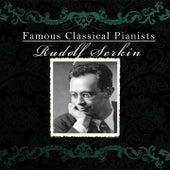 Famous Classical Pianists / Rudolf Serkin von Various Artists