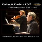 Violine & Klavier - Live (Werke von Bach, Corelli, Vivaldi & Winkler) by Various Artists