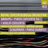 Brahms: Violin Concerto & Piano Concerto No. 2 - Schumann: Piano Quartet (Live) by Royal Concertgebouw Orchestra