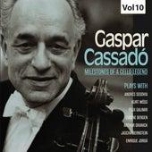 Milestones of a Cello Legend: Gaspar Cassadó, Vol. 10 de Various Artists