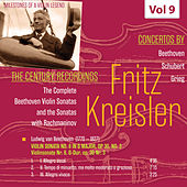 Milestones of a Violin Legend: Fritz Kreisler, Vol. 9 by Fritz Kreisler
