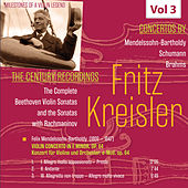 Milestones of a Violin Legend: Fritz Kreisler, Vol. 3 by Fritz Kreisler