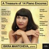 A Treasure of 14 Piano Encores de Iskra Mantcheva