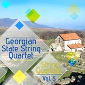 String Quartets, Vol. 5 de Georgian State String Quartet