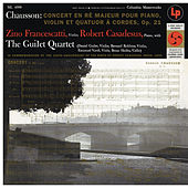 Chausson: Concerto for Violin, Piano and String Quartet, Op. 21 de Robert Casadesus