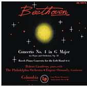 Beethoven: Piano Concerto No. 4 - Ravel: Piano Concerto for the left Hand (Remastered) de Robert Casadesus
