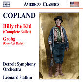 Copland: Grohg & Billy the Kid von Detroit Symphony Orchestra