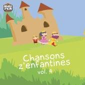 Chansons z'enfantines, vol. 4 (Comptines traditionnelles pour les tout-petits) de Mathilde