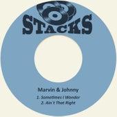 Sometimes I Wonder de Marvin & Johnny