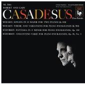 Mozart: Sonata for 2 Pianos, K. 448 & Andante with 5 Variations, K. 501 - Schubert: Fantasia, D. 940 & Andantino varié, D. 823 by Robert Casadesus