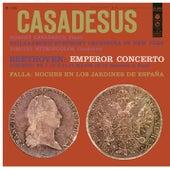 Beethoven: Piano Concerto No. 5 - Falla: Noches en los Jardines de España, IMF 8 by Robert Casadesus